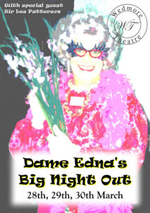 Dame Edna's Big Night Out Programme